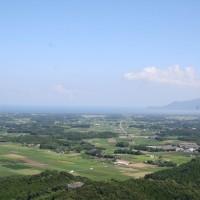 高台から見る大崎(410KB)